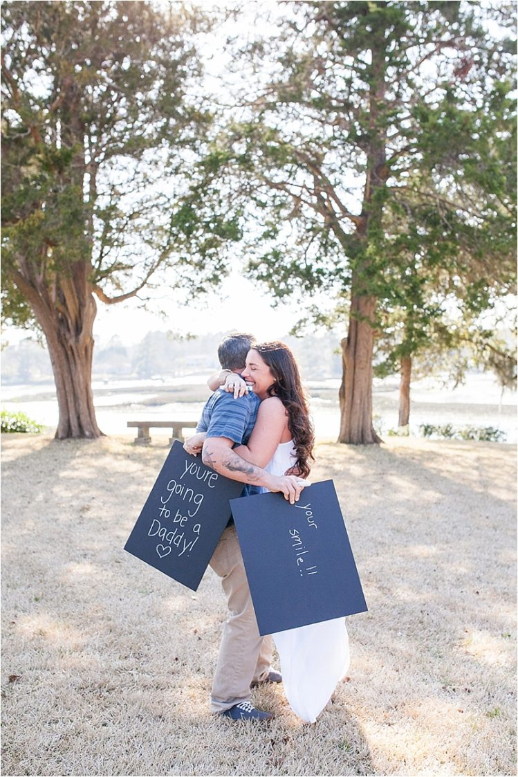 baby reveal idea wilmington nc